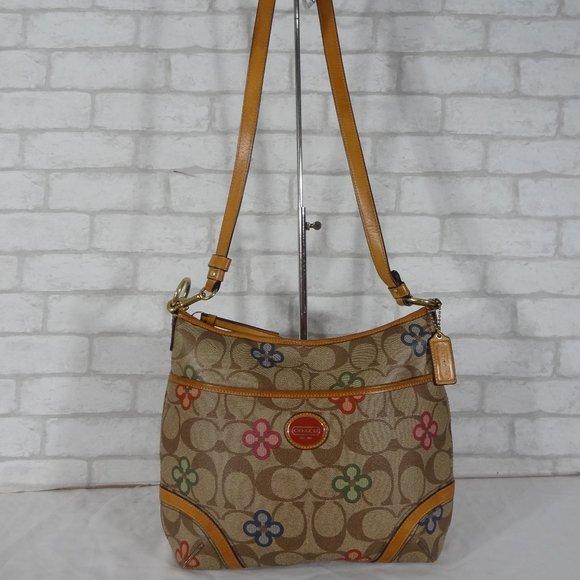 Coach Handbags - Rare Coach F22223 Peyton Clover Shoulder Bag Hobo
